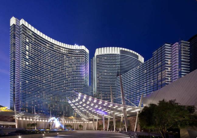 Dimitri Snowden speaks at Aria Las Vegas