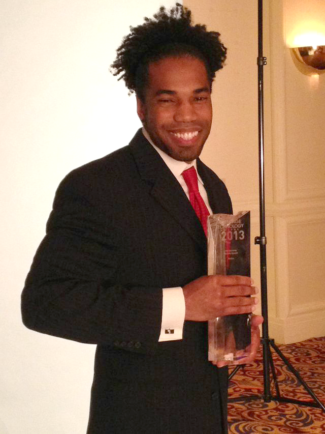Dimitri Snowden receives Mortgage Technology Award