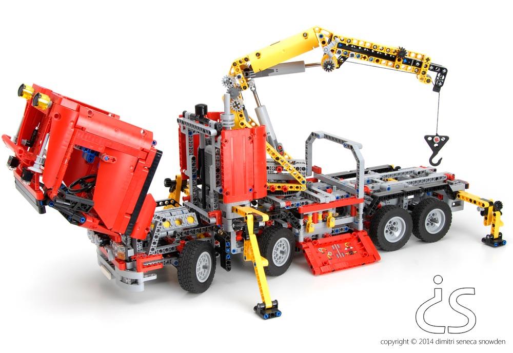 dimitri snowden lego crane truck