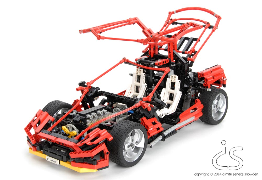 dimitri snowden lego super car