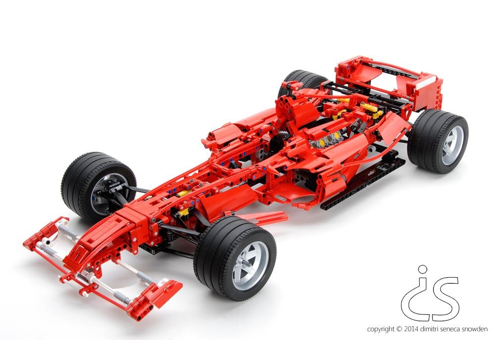 dimitri snowden lego formula one racer