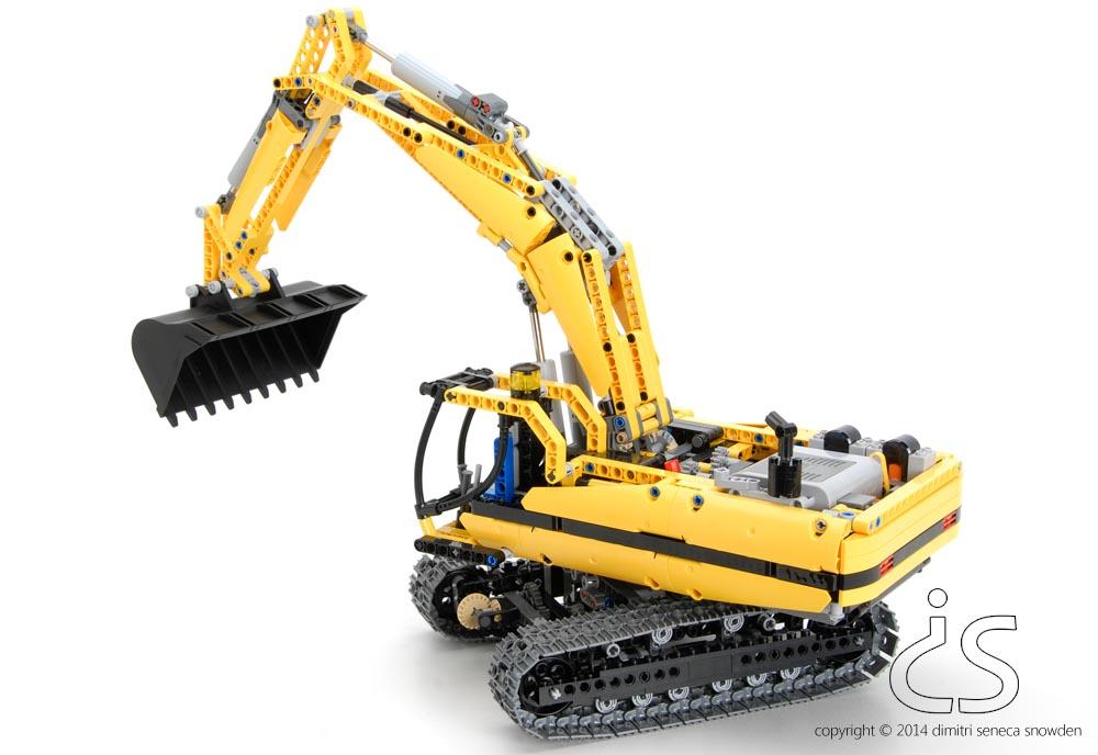 dimitri snowden lego excavator